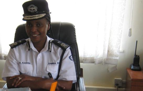 Copperbelt Police Commissioner Joyce Kasosa ZP
