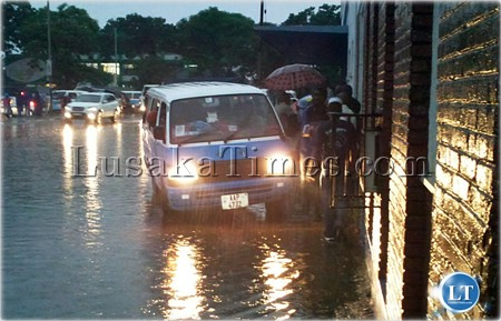 Zambia: Kulima Bus Station flooding due to serious contract omission-Mayor