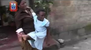 Zambia: 11 Year Old Girl Agonizing with Fractured Legs