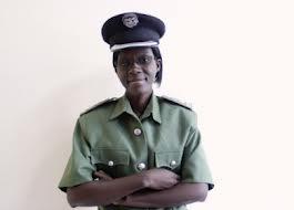 Police deputy spokesperson Charity Munganga-Chanda