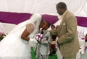 South Africa: 8 year old schoolboy marries 61 year old woman in South Africa