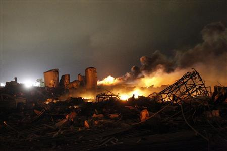 USA: Another Deadly Explosion Hit Texas Fertilizer Plant
