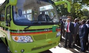 Zambia: Sata Hands over 1,000 Higer buses