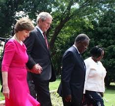 Zambia/USA: Bush hails Zambia's commitment to fighting HIV/AIDS