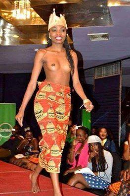Miss Freedom Beauty Pageant Finalist Charity Mwanza