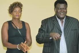 Esther Phiri and Willie Nsanda