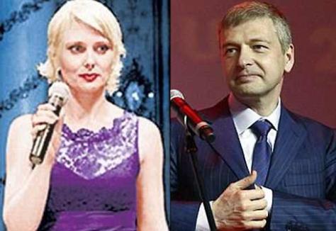 Elena Rybolovleva (L),  Dmitry Rybolovlev (R)