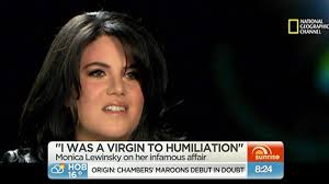 "USA: Monica Lewinsky Speaks Out in First TV Interview Since 2003: ""I Was a Virgin to Humiliation"""