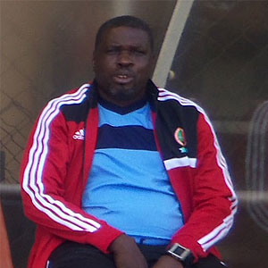 George Lwandamina Acting coach of the Zambia national soccer team