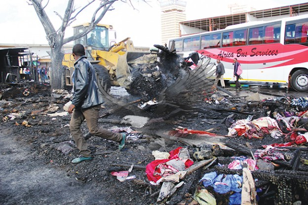 Zambia: Intercity bus terminus gutted