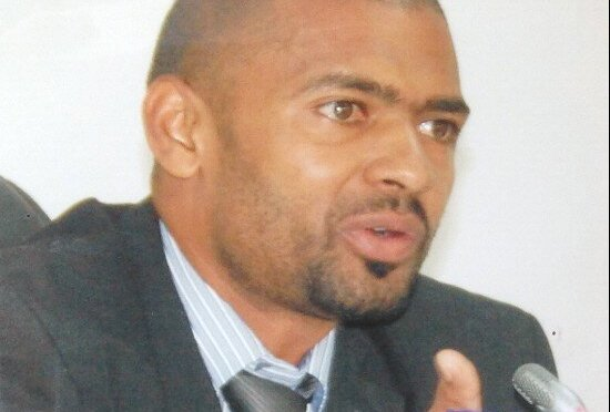Sports Minister Vincent Mwale
