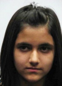 Young teenager: Geeti Shafia was just 13 when she was found dead in the submerged car